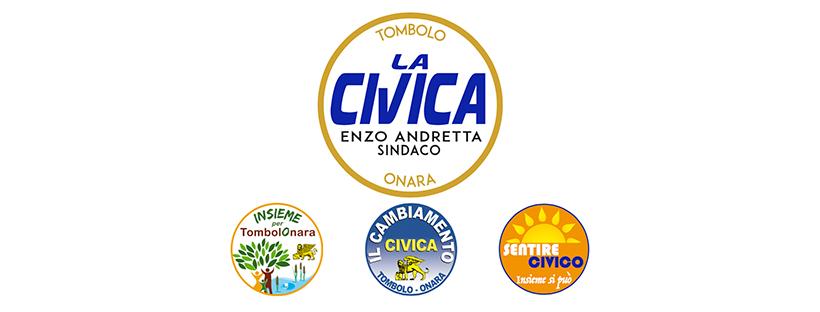 "Tombolo e Onara: Lista ""LA CIVICA"""